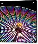 Ferris Wheel Rainbow Acrylic Print