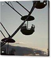Ferris Wheel Silhouette Acrylic Print