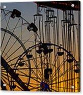 Ferris Wheels Acrylic Print