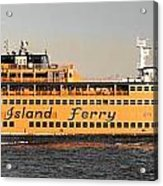 Ferry Time Acrylic Print