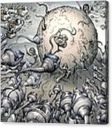Fertilisation, Conceptual Image Acrylic Print
