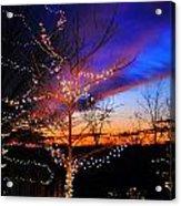 Festive Lights Acrylic Print