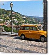 Fiat 500 Amantea Acrylic Print