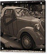 Fiat Dream Car Acrylic Print