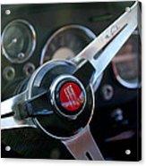 Fiat Steering Wheel Acrylic Print