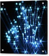 Fiber Optic Cables Acrylic Print