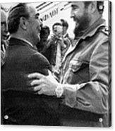 Fidel Castro Acrylic Print