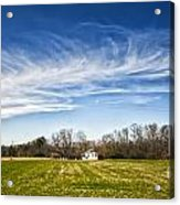 Field And Sky Acrylic Print