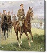 Field Marshal Haig Acrylic Print by Jan van Chelminski