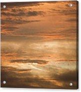 Fiery Atlantic Sunrise 2 Acrylic Print