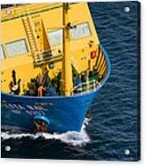 Fiesta Mail At Nassau Harbor Acrylic Print