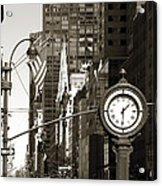 Fifth Avenue Acrylic Print