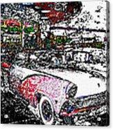 Fifties Drive In Acrylic Print