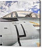 Fighter Jet Cockpit Acrylic Print
