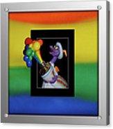 Figments Rainbow Of Colors Acrylic Print