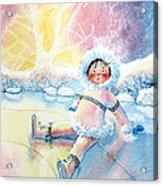 Figure Skater 10 Acrylic Print