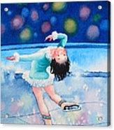 Figure Skater 16 Acrylic Print