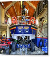 Filey Lifeboat Acrylic Print