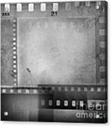 Film Negatives  Acrylic Print