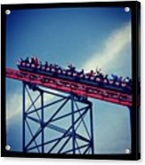 Final Destination: Blackpool Acrylic Print