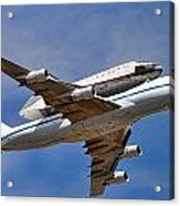 Final Flight Endeavour Acrylic Print