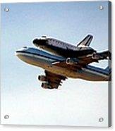 Final Flight Acrylic Print