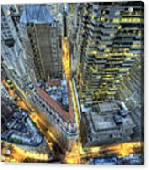 Financial District New York City Acrylic Print