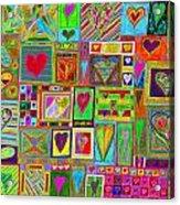 find U'r Love found    v15 Acrylic Print