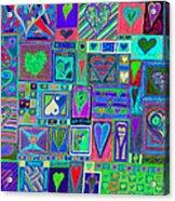 find U'r Love found    v13 Acrylic Print
