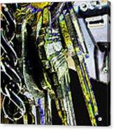 Finding The Right Keys  Art Acrylic Print