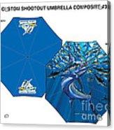 Fine Art Umbrellas Acrylic Print
