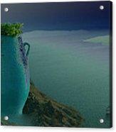 Fira View Santorini Greece Acrylic Print