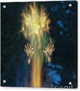 Fire Angel Acrylic Print