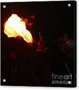 Fire Blower Acrylic Print