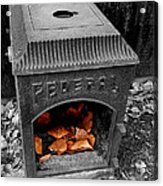 Fire Box Acrylic Print