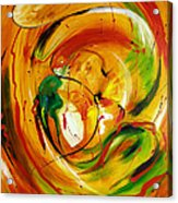 Fire In Love Acrylic Print
