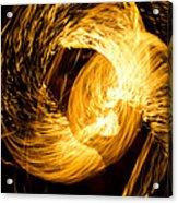 Fire Juggling 02 Acrylic Print