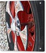 Fire Truck Spinner Acrylic Print