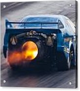 Fireforce Jet Funny Car Acrylic Print