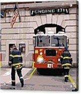 Firehouse Color 16 Acrylic Print