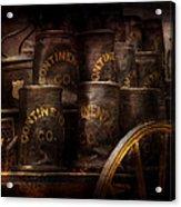 Fireman - Bucket Brigade  Acrylic Print