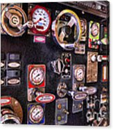 Fireman - Discharge Panel Acrylic Print