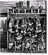 Fireman - Jackets Helmets And Boots Acrylic Print