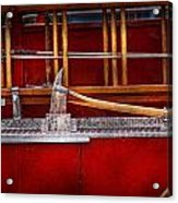 Fireman - Nice Axe  Acrylic Print by Mike Savad