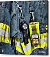 Fireman - The Fireman's Coat Acrylic Print