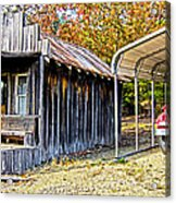 Fireman Cottage Acrylic Print