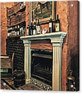 Fireplace Acrylic Print