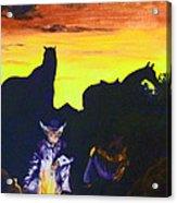 Fireside Hypnotism Acrylic Print
