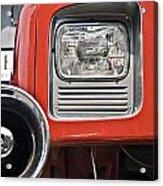 Firetruck Light And Horn Acrylic Print