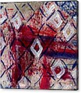 Firework Diamonds  Acrylic Print by Kimanthi Toure